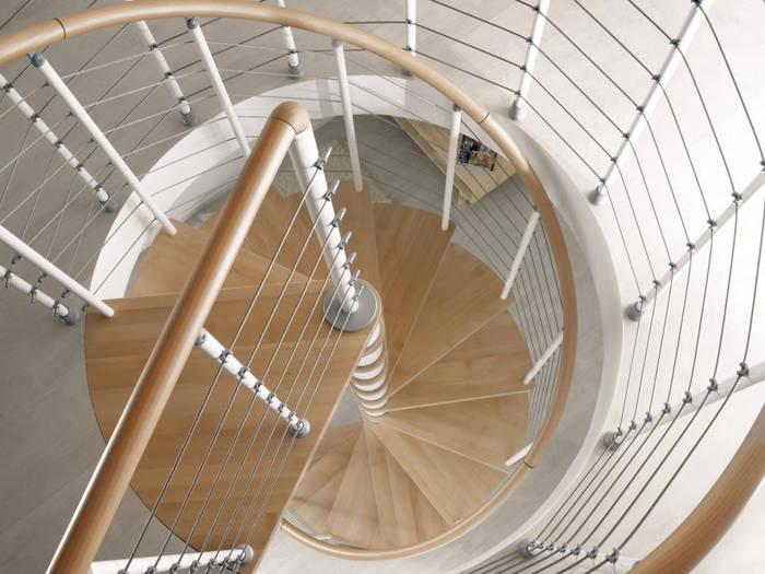Nowoczesne schody od Fontanot